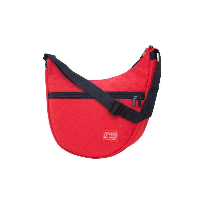 マンハッタンポーテージ メンズ ショルダーバッグ バッグ Quilted Nolita Shoulder Bag Red