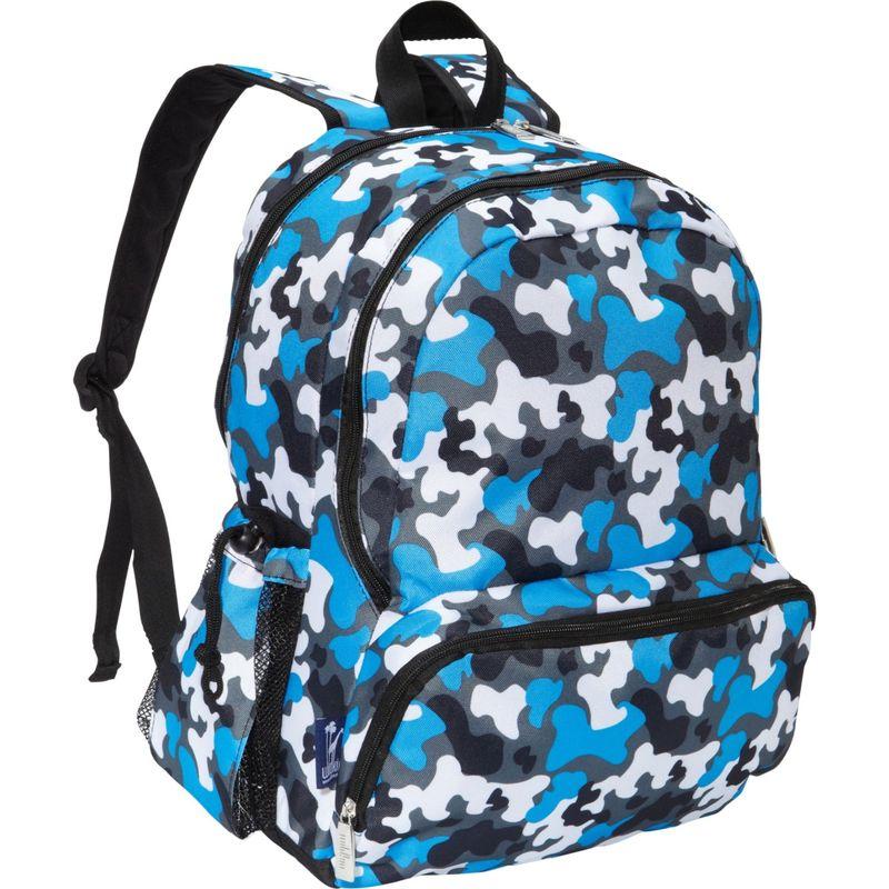 ワイルドキン メンズ バックパック・リュックサック バッグ Kids 17 Inch Backpack Blue Camo