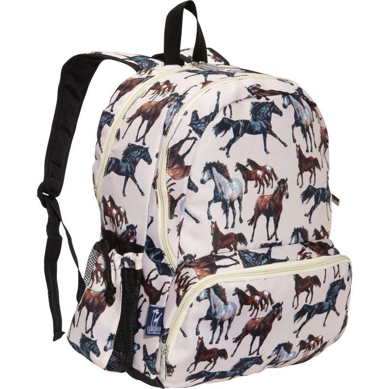 ワイルドキン メンズ バックパック・リュックサック バッグ Kids 17 Inch Backpack Horse Dreams