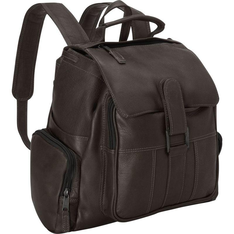 ラティコレザーズ メンズ バックパック・リュックサック バッグ Discovery Backpack - Medium Cafe