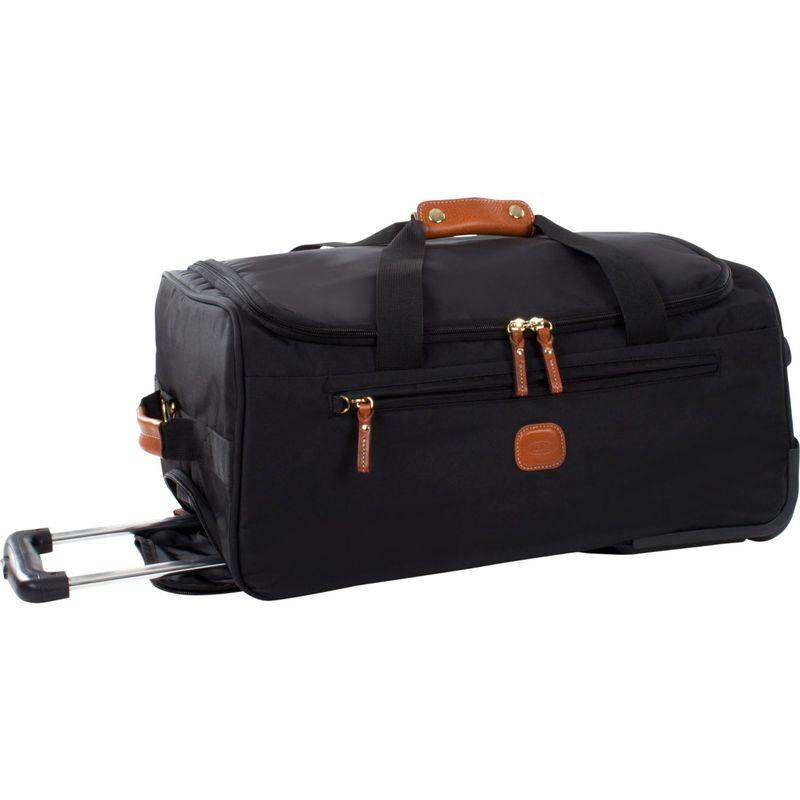 """ブリックス メンズ スーツケース バッグ X-Bag 21"""" Rolling Duffle Black"""