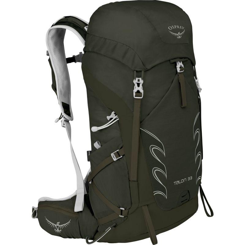 オスプレー メンズ バックパック・リュックサック バッグ Talon 33 Hiking Pack Yerba Green - S/M