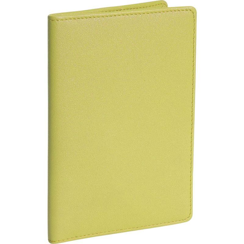 ロイスレザー メンズ 財布 アクセサリー Plain Passport Jacket Key Lime Green