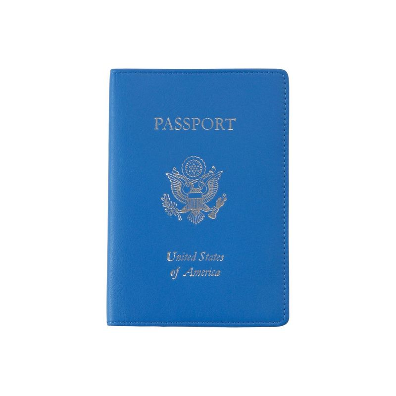 ロイスレザー メンズ 財布 アクセサリー Passport Jacket Green- Gold Foil