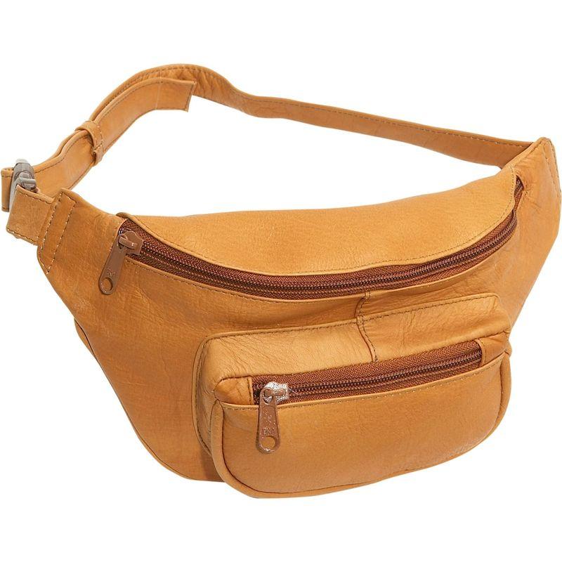 ルドネレザー メンズ ボディバッグ・ウエストポーチ バッグ Waist Bag Tan