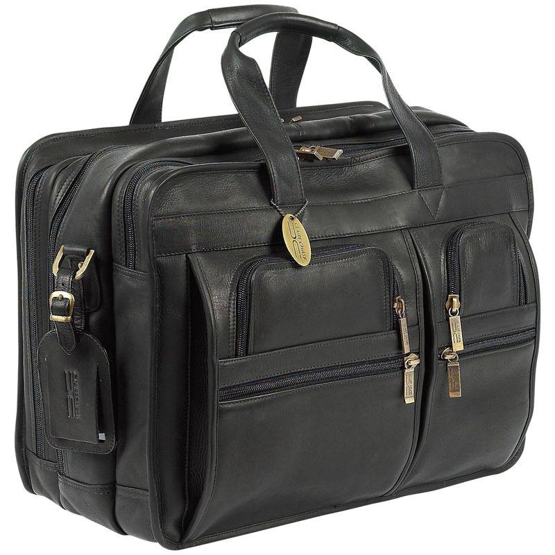 クレアーチャイス メンズ スーツケース バッグ Executive Briefcase X-wide Black