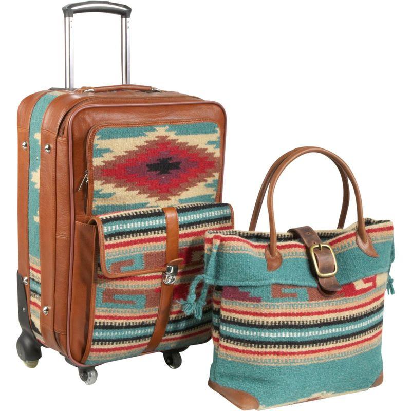 アメリ メンズ スーツケース バッグ Odyssey 2 Pc. Carry-On Set Turquoise