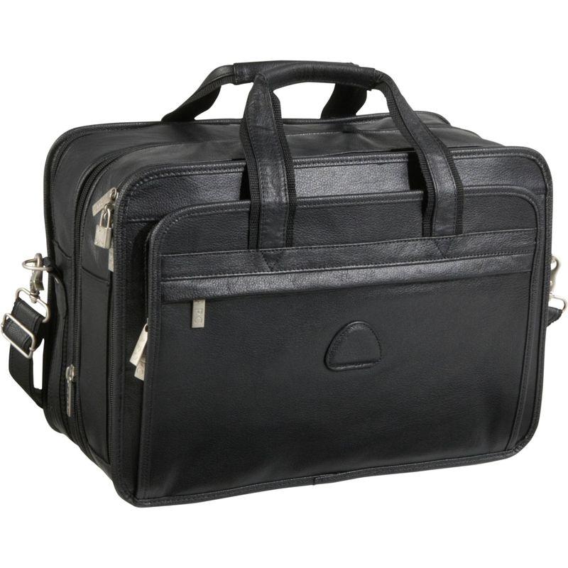 アメリ メンズ スーツケース バッグ Leather Expandable Leather Laptop Case アメリ スーツケース Black, Charaラボ(チャララボ):0e2f357d --- colormood.fr