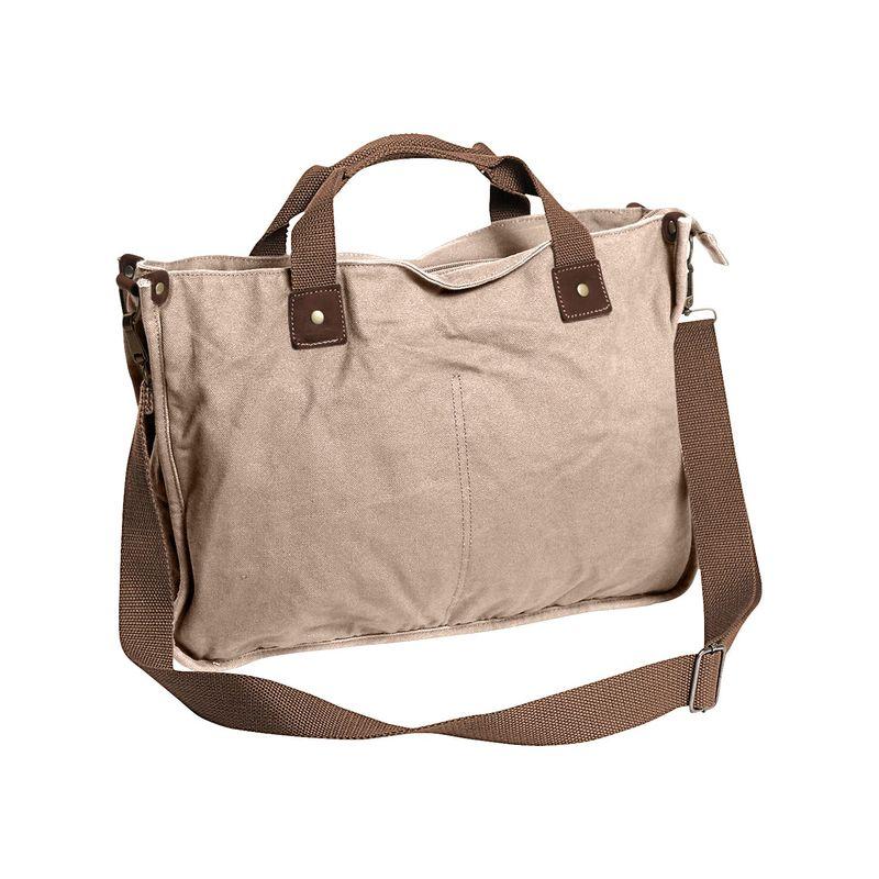 ヴァガボンドトラベラー メンズ ショルダーバッグ バッグ Canvas Casual Messenger Bag Khaki