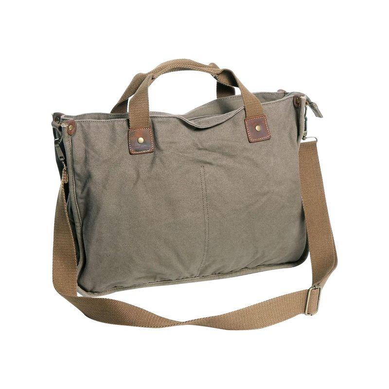 ヴァガボンドトラベラー メンズ ショルダーバッグ バッグ Canvas Casual Messenger Bag Military Green
