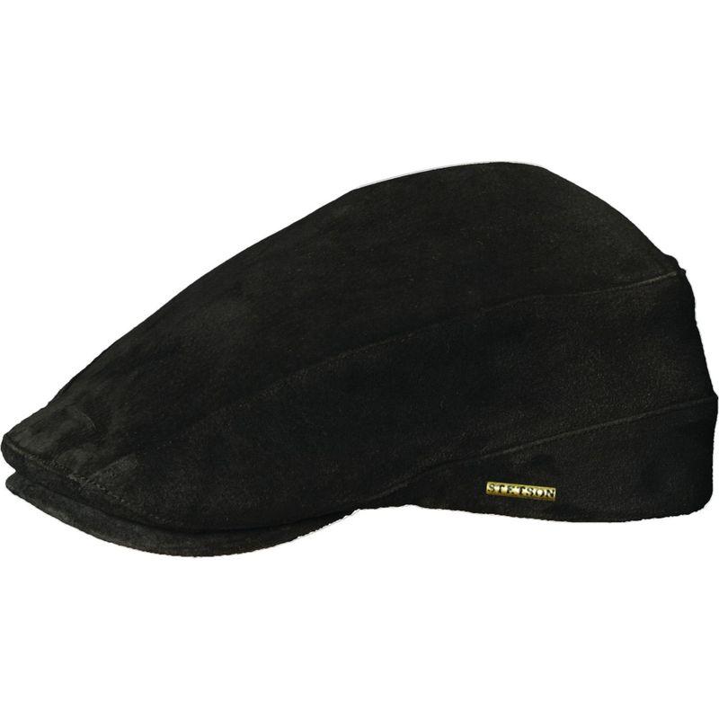 ステトソン メンズ 帽子 アクセサリー Suede Ivy XL - Black