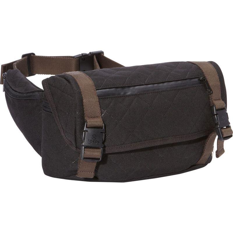 トーケン メンズ ボディバッグ・ウエストポーチ バッグ Lorimer Quilted Waist Bag Black