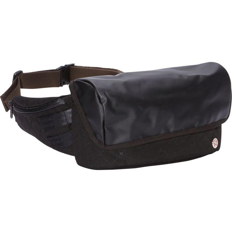 トーケン メンズ ボディバッグ・ウエストポーチ バッグ Quilted Grand Army Waist Bag Black