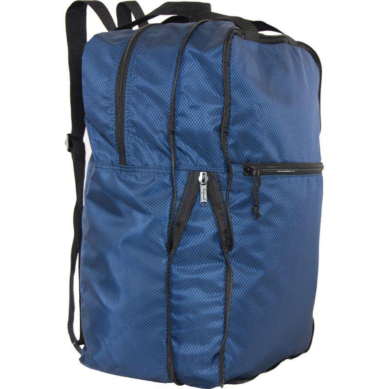 ネットパック メンズ バックパック・リュックサック バッグ U-Zip Expandable Packable Backpack Navy