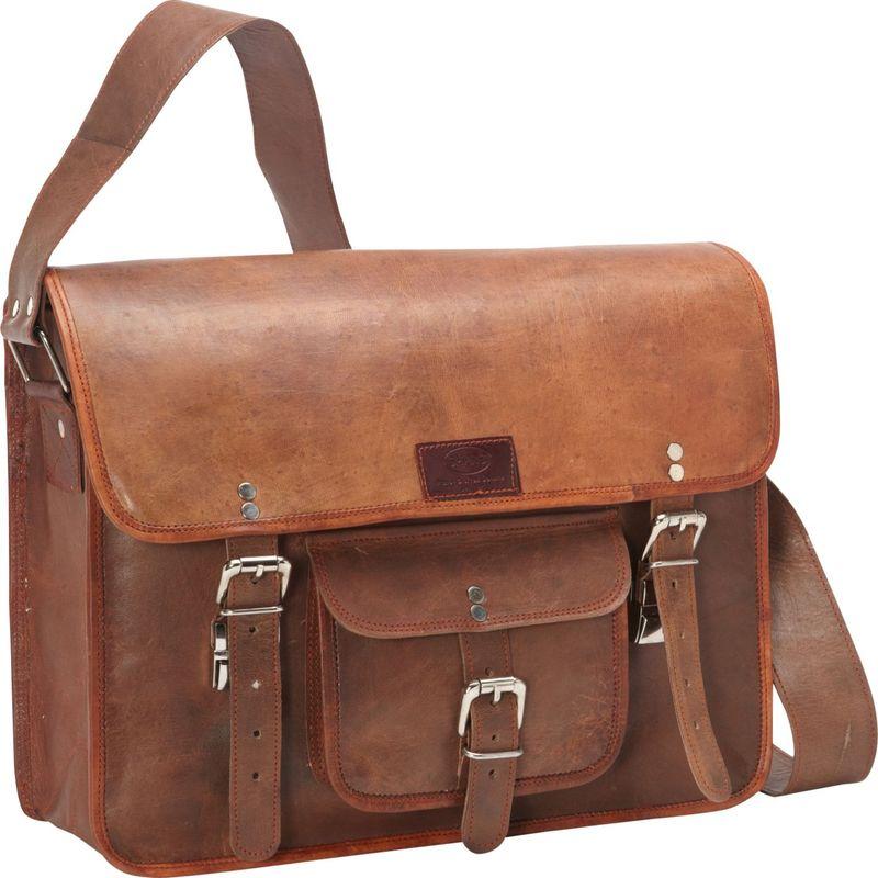送料無料 サイズ交換無料 シャロレザーバッグス メンズ バッグ スーツケース BROWN シャロレザーバッグス メンズ スーツケース バッグ Computer Messenger Bag BROWN