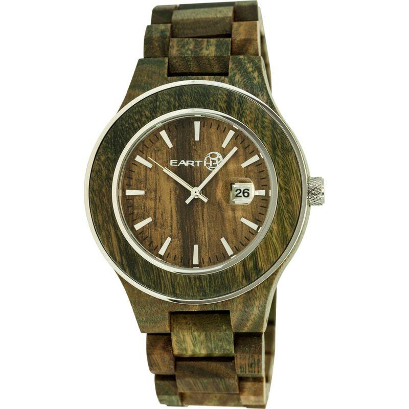 アースウッド メンズ 腕時計 アクセサリー Cherokee Wood Unisex Watch Olive