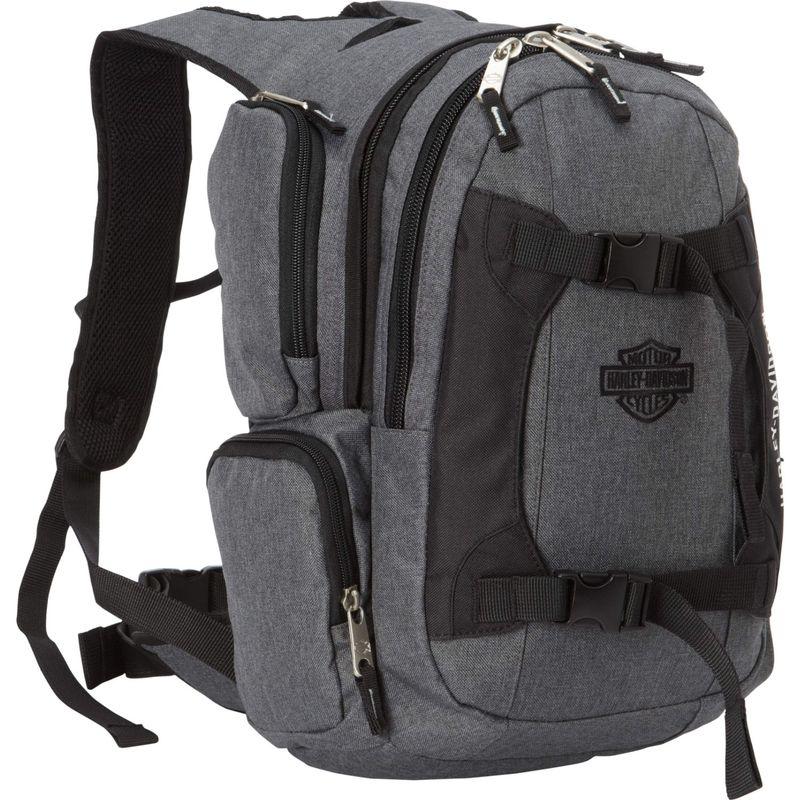ハーレーダビッドソン メンズ バックパック・リュックサック バッグ Equipt Backpack Grey/Black