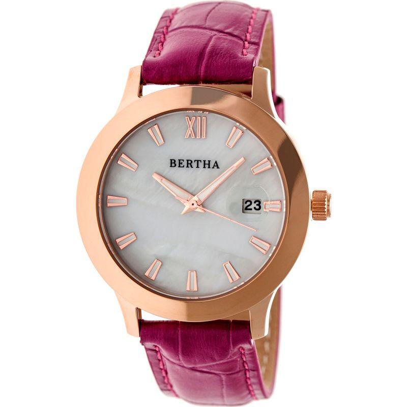 ベルサ メンズ 腕時計 アクセサリー Eden Ladies Watch Fuchsia/Rose Gold/White