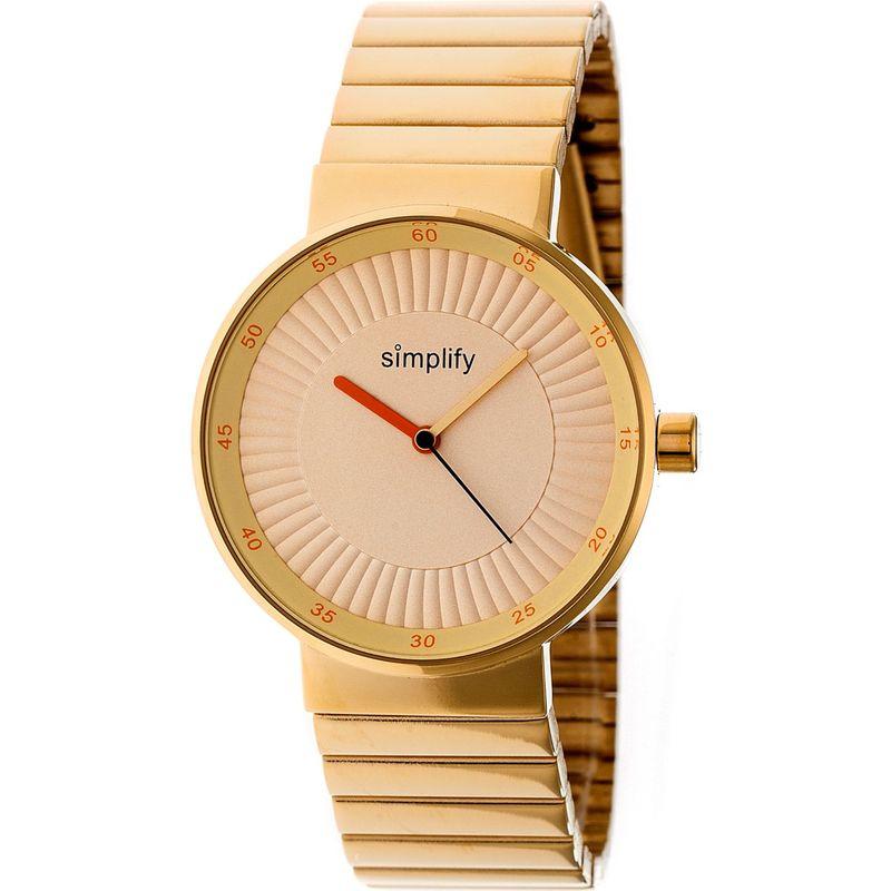 シンプリファイ メンズ 腕時計 アクセサリー The 4600 Unisex Watch Gold
