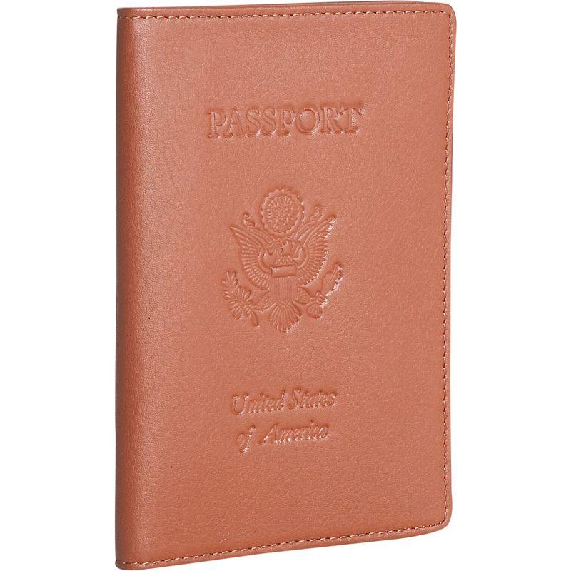 ロイスレザー メンズ 財布 アクセサリー Leather Passport Jacket Tan