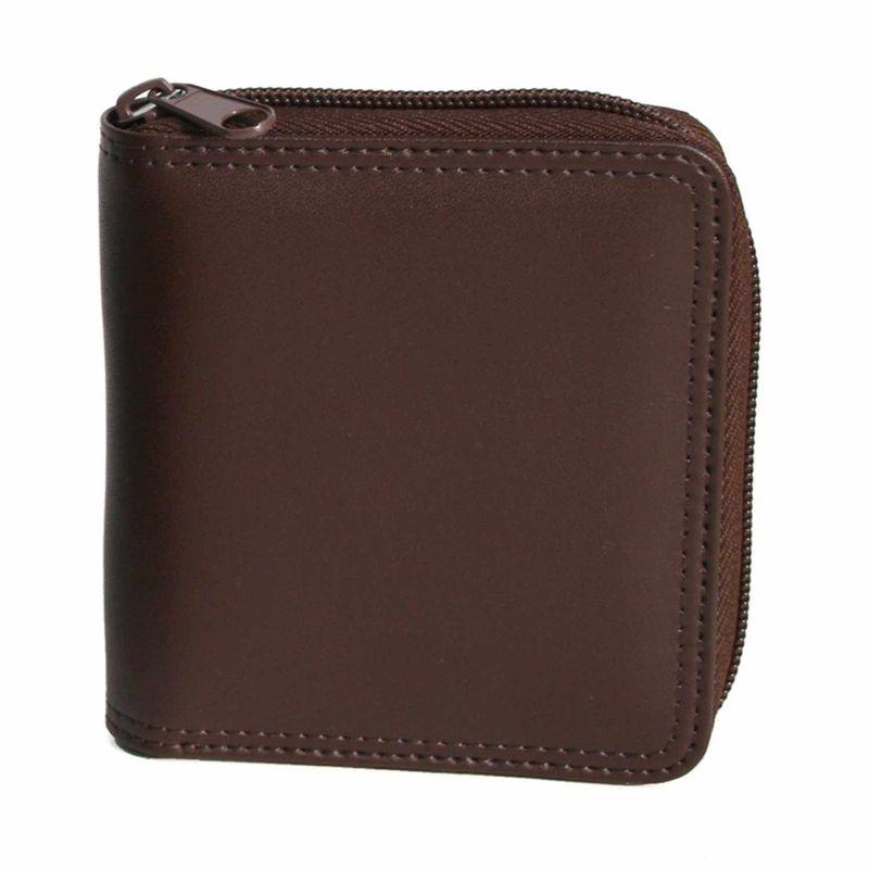 ロイスレザー メンズ 財布 アクセサリー Zip Around Men's Wallet Coco/Coco