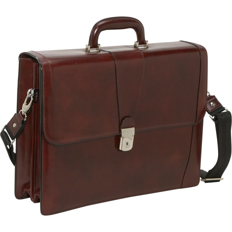 ボスカ メンズ スーツケース バッグ Old Leather Double Gusset Brief Dark Brown