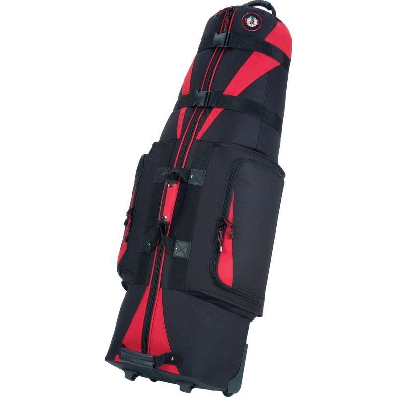 ゴルフトラベル メンズ ボストンバッグ バッグ Caravan 3.0 Black/Red