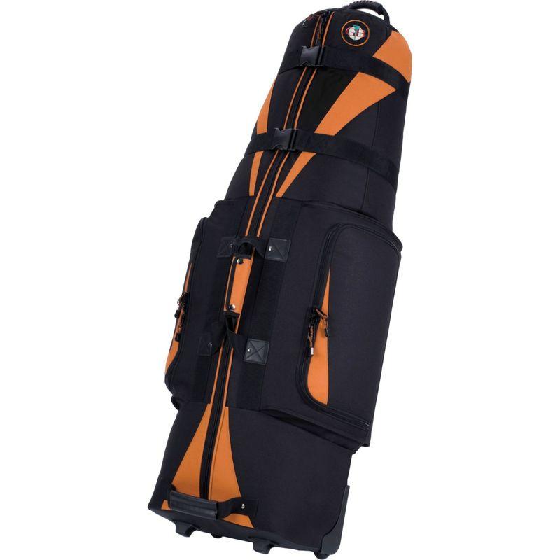 ゴルフトラベル メンズ ボストンバッグ バッグ Caravan 3.0 Black/Tangerine