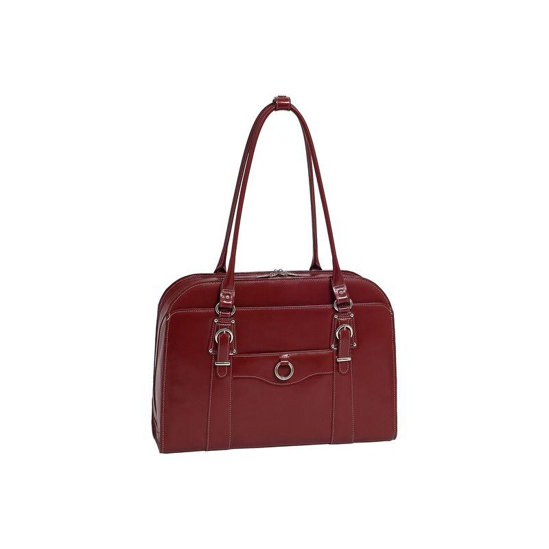 マックレイン メンズ スーツケース バッグ W Series Hillside Laptop Tote Red
