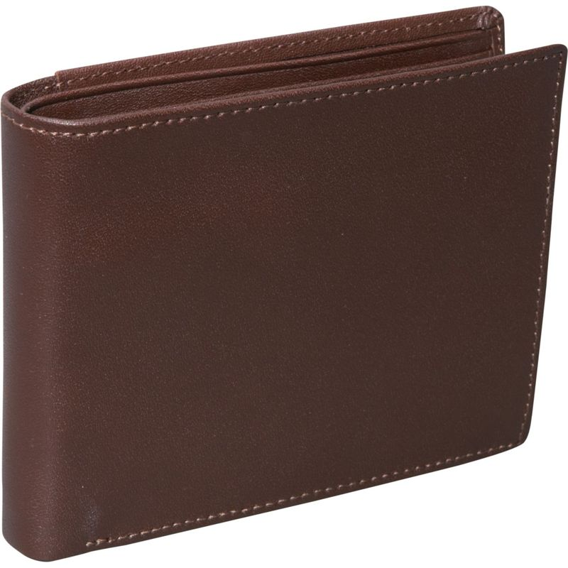 ロイスレザー メンズ 財布 アクセサリー RFID Blocking Euro Commuter Men's Wallet Coco/Coco