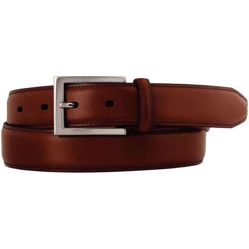 ジョンストンアンドマーフィー メンズ ベルト アクセサリー Dress Belt 34 - Cognac
