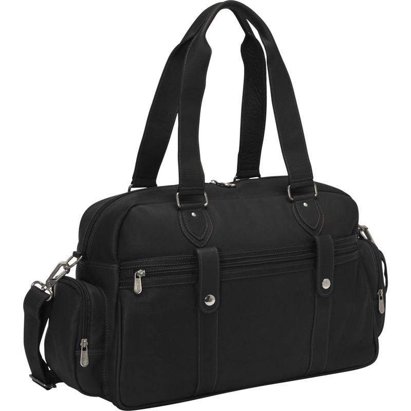 ピエール メンズ スーツケース バッグ Adventurer Carry-On Satchel Black