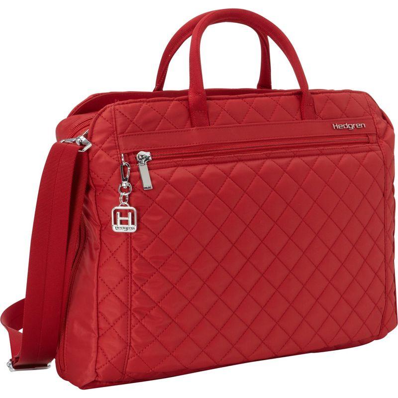 ヘドグレン メンズ スーツケース バッグ Pauline Laptop Briefcase New Bull Red