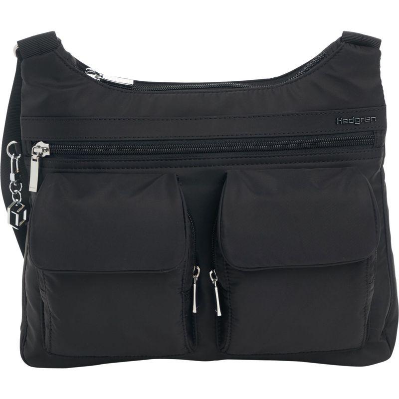 ヘドグレン メンズ ショルダーバッグ バッグ Prairie RFID Shoulder Bag Black