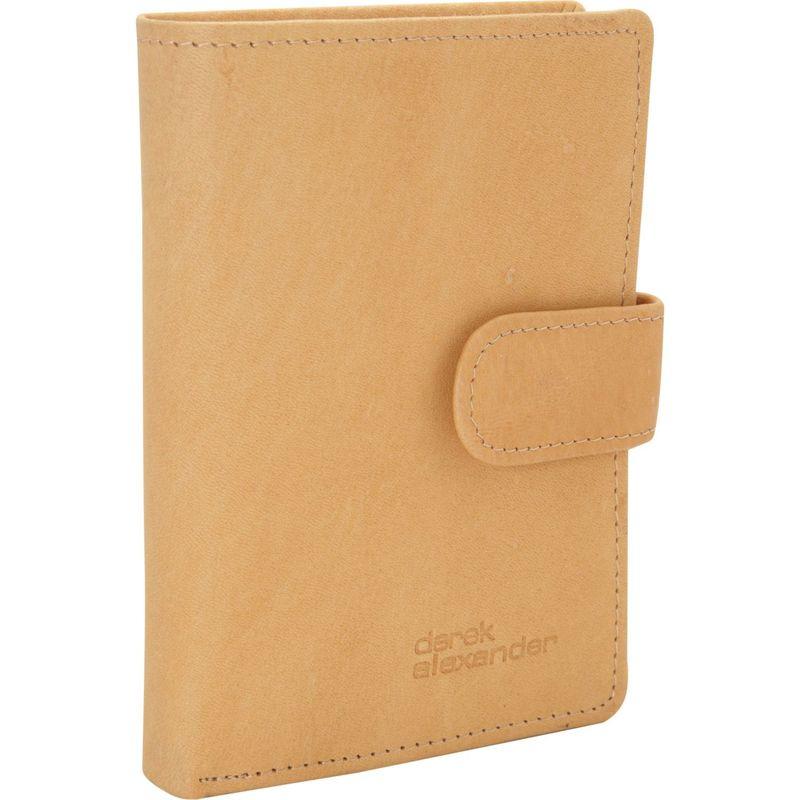 デレクアレクサンダー メンズ 財布 アクセサリー Multi Card Clutch Wallet Tan