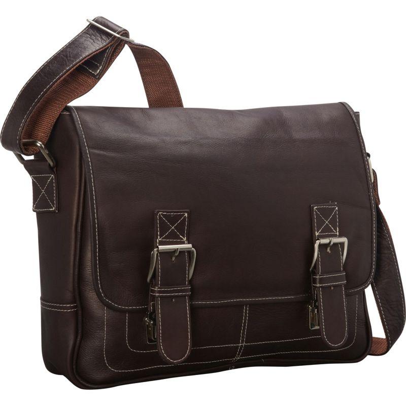 ラティコレザーズ メンズ ショルダーバッグ バッグ Adventurer Shoulder Bag Cafe