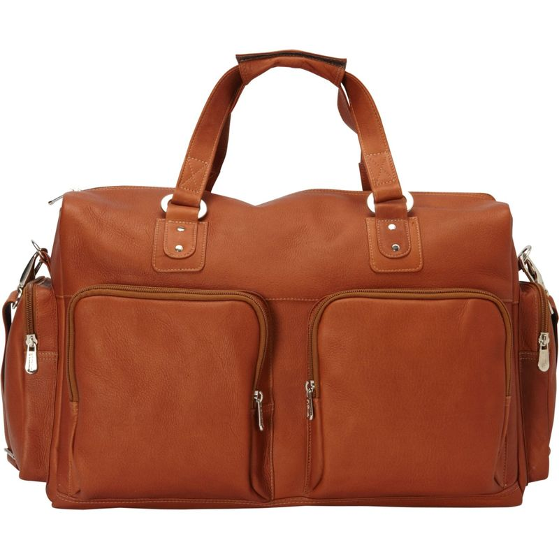 ピエール メンズ スーツケース バッグ Multi-Pocket Carry-On Saddle