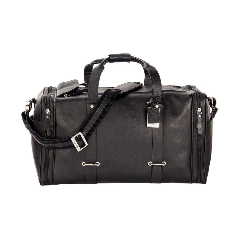 ブガッティ メンズ スーツケース バッグ Bello Leather Duffle Bag Black