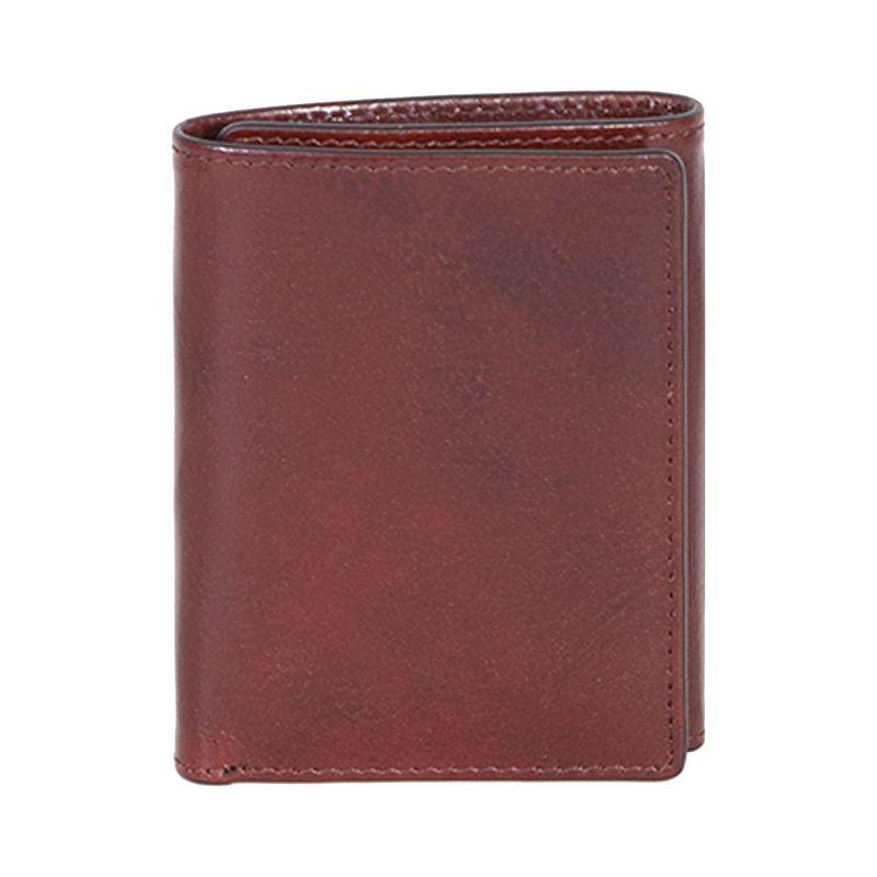 スカーリー メンズ 財布 アクセサリー RFID Trifold Wallet Mahogany