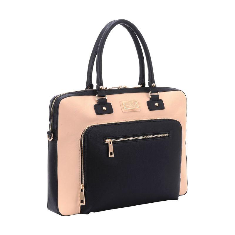 サンディーリサ メンズ スーツケース バッグ London Shoulder Bag Cream/Black