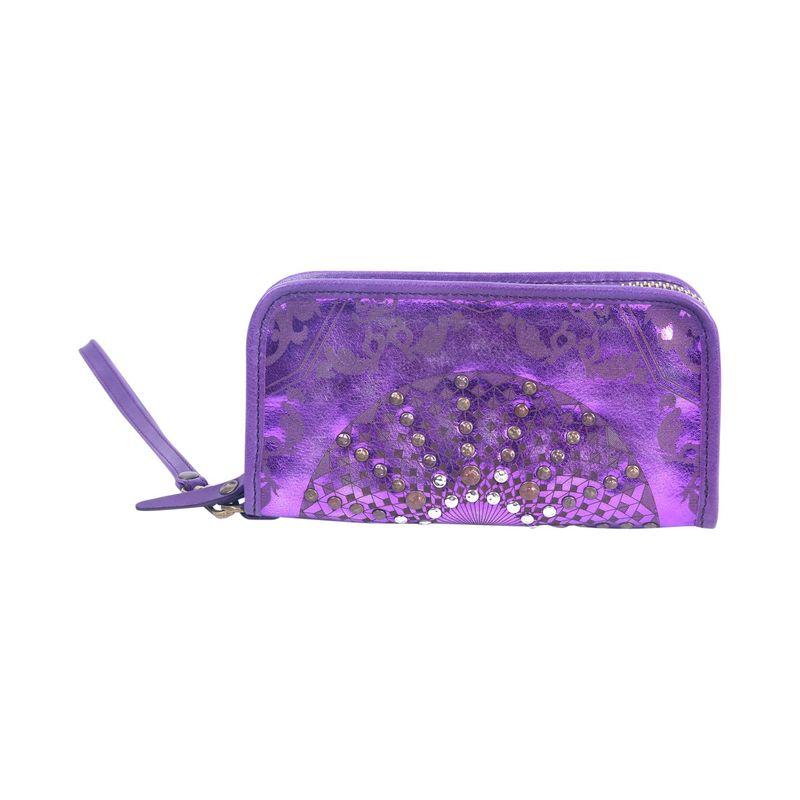 オールドトレンド メンズ セカンドバッグ・クラッチバッグ バッグ Golden Mola Clutch Violet