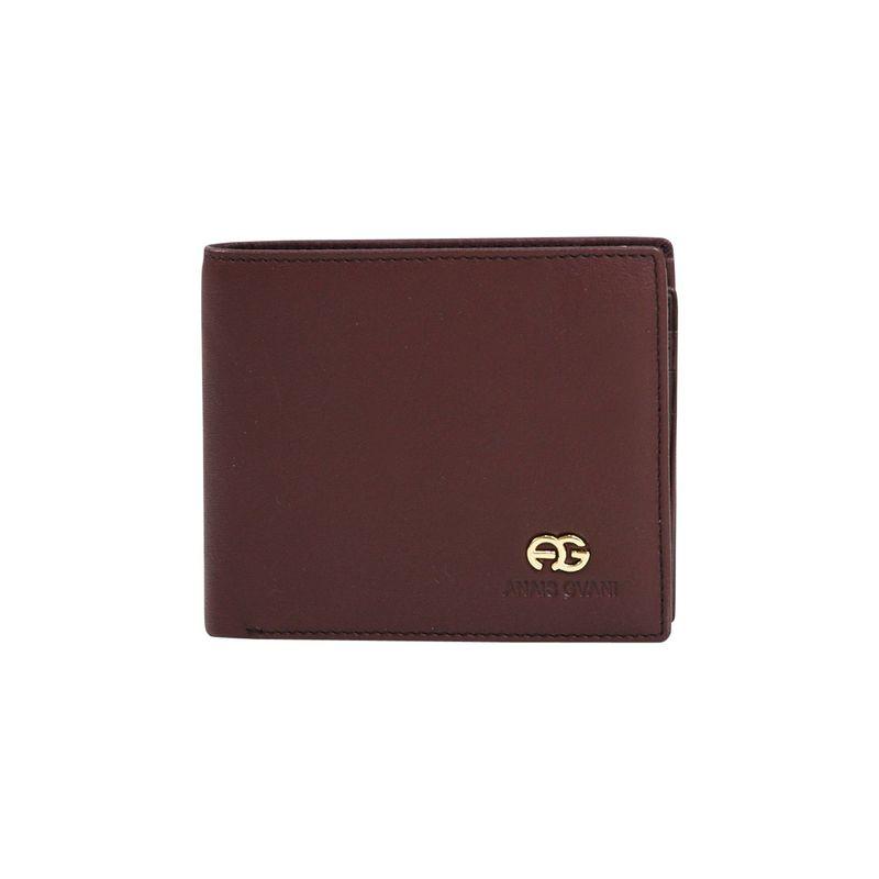 ダセイン メンズ 財布 アクセサリー Men's Genuine Smooth Leather Wallet Brown