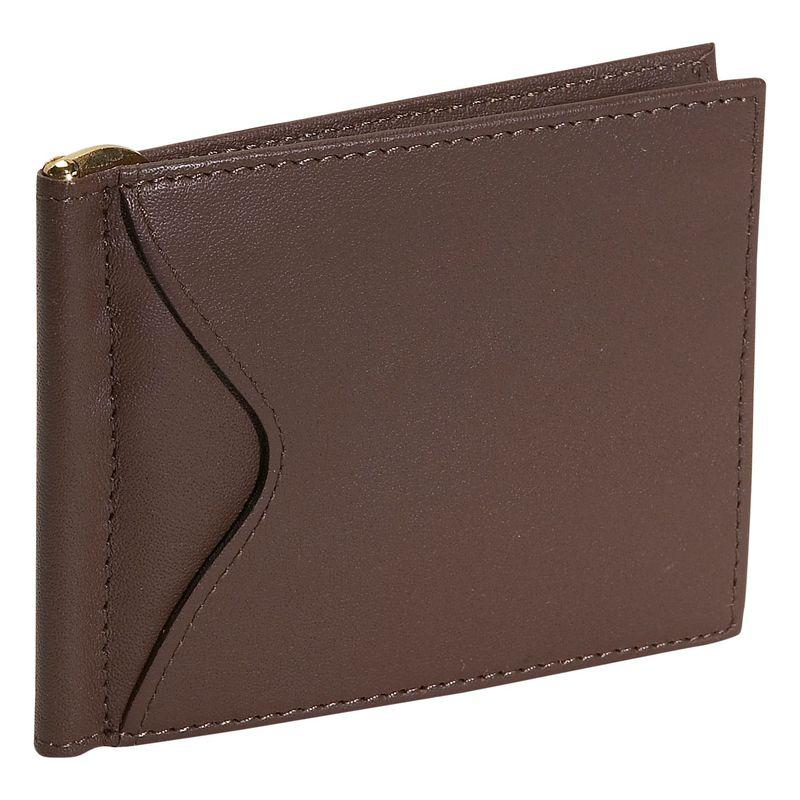 ロイスレザー メンズ 財布 アクセサリー Men's Cash Clip Wallet Coco