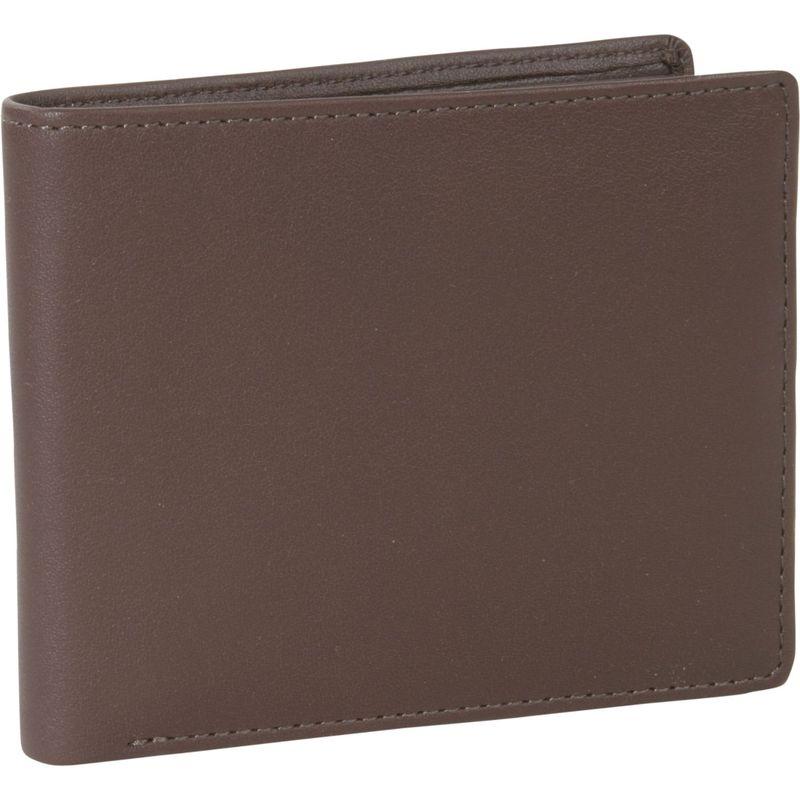 ロイスレザー メンズ 財布 アクセサリー Mens Two-Fold W/Double Id Flap Wallet Coco