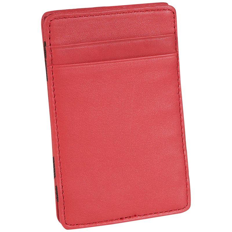 ロイスレザー メンズ 財布 アクセサリー Magic Men's Wallet Red