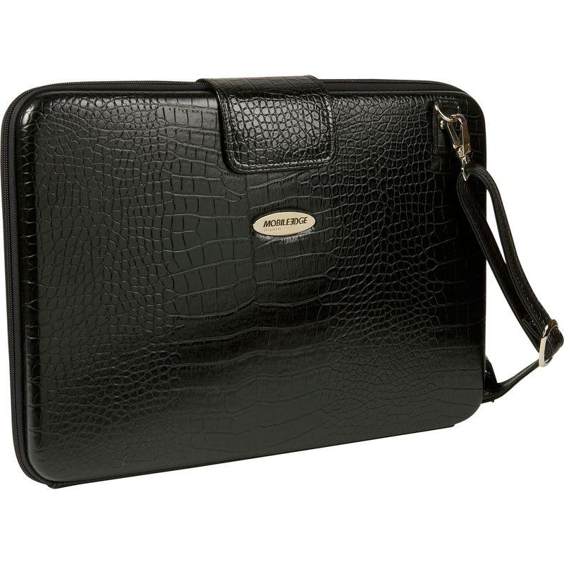 モバイルエッジ メンズ スーツケース バッグ Large Faux Croc Portfolio - 16