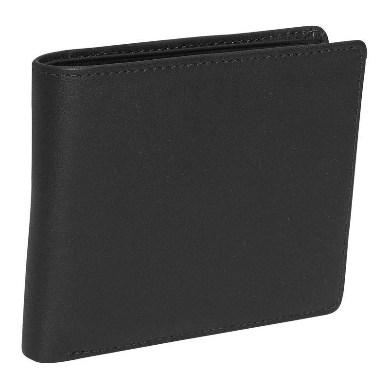 ロイスレザー メンズ 財布 アクセサリー Men's Euro Commuter Wallet Black