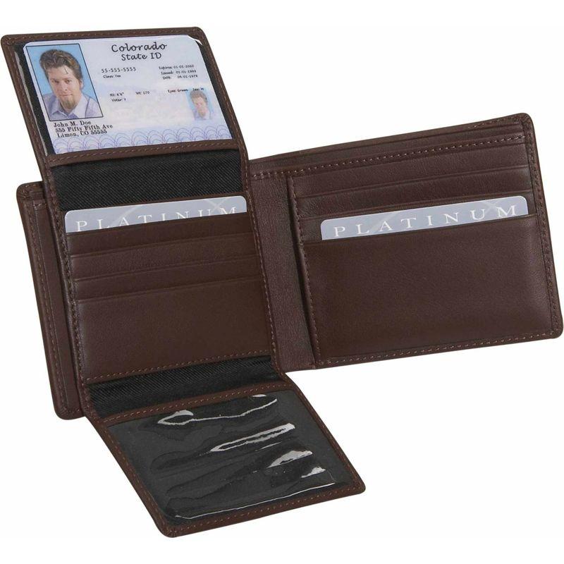 ロイスレザー メンズ 財布 アクセサリー Men's Euro Commuter Wallet Coco