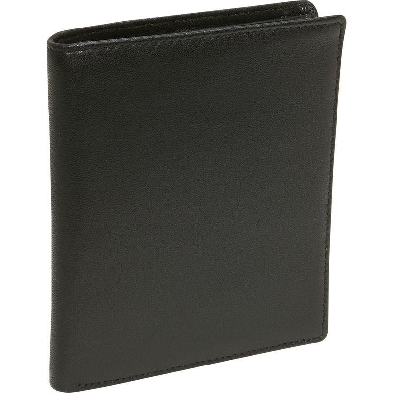 バッドレザー メンズ 財布 アクセサリー Cowhide Leather Hipster Black