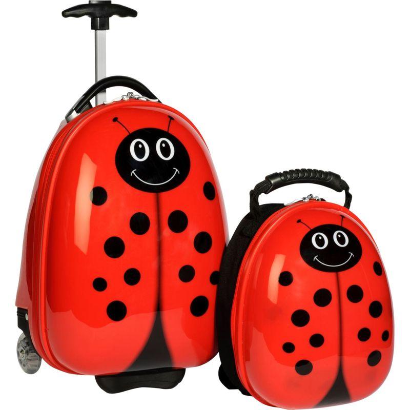 トレンディキッズ メンズ スーツケース バッグ Travel Buddies Ladybug Lady Bug